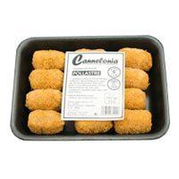 Cannelonia croquetas de pollo sin gluten