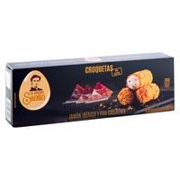 La Cocina de Senén croquetas de jamón y pan crujiente sin gluten