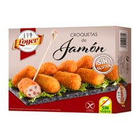 Loyev croquetas de jamón sin gluten