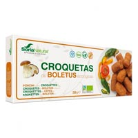 Soria Natural croquetas de boletus sin gluten