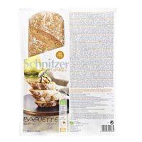 Schnitzer. Bio Baguette Rustic sin gluten